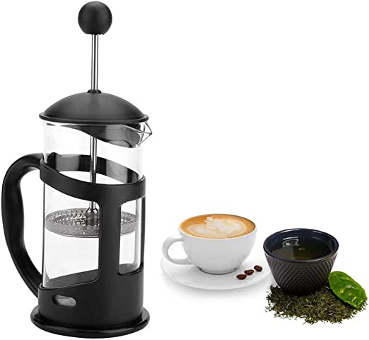 French Press Coffee Tea Maker, cafetera manual portátil Moka ...