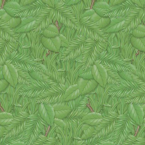 Fadeless PAC56255 Bulletin Board Art Paper, Tropical Foliage, 48