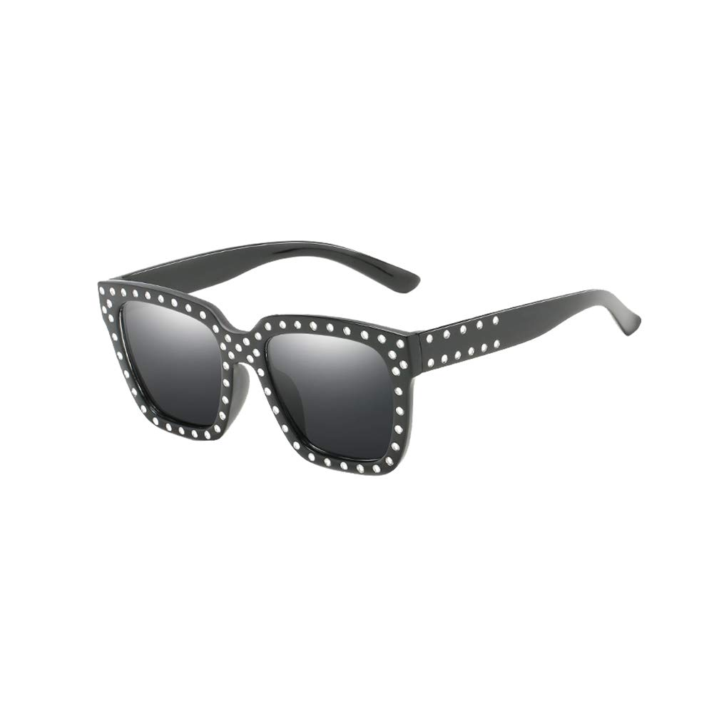 Kosaire Fashion Vintage All-Match Sunglasses Cat Eye Ultra Light and Durable Frame Outdoor Travel Accessories