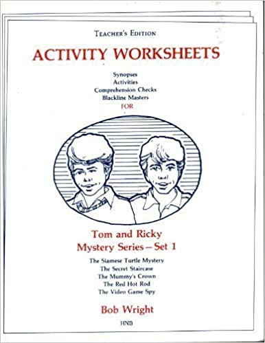 Amazon tom and ricky mystery series set 1teachers edition tom and ricky mystery series set 1teachers edition reproducable activity workbook high noon s teachers guide work papers edition fandeluxe Image collections