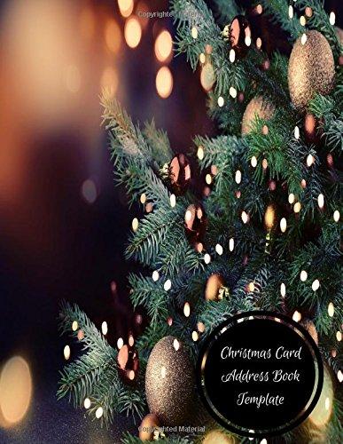 Download Christmas Card Address Book Template: Christmas Card Log pdf epub