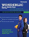 Wonderlic Basic Skills Test Study Guide, Trivium Test Prep, 1939587425