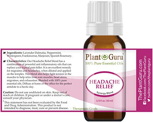 Buy essential oils for headaches