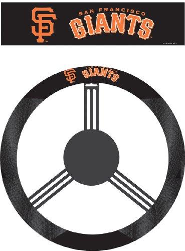 Fremont Die MLB San Francisco Giants Poly-Suede Steering Wheel Cover
