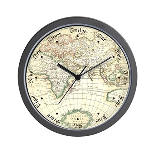 cafepress-old-world-antique-map-unique-decorative-10-wall-clock
