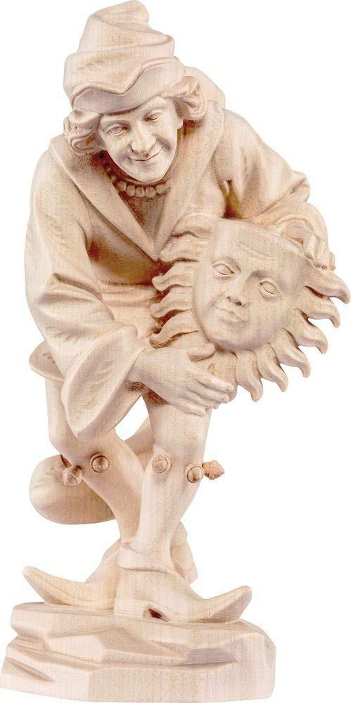 Natur - Unbemalt 33 cm Holzschnitzerei Oswald Amort Sonnentänzer   33 cm   Natur - Unbemalt