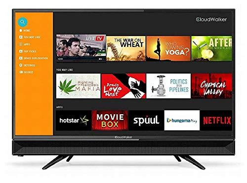CloudWalker 80 cm (32 inches) 4K Ready Smart HD Ready LED TV 32SHX2 (Black)