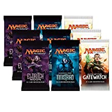 Magic the Gathering - 3x Eldritch Moon, 3x Shadows Over Innistrad and 3x Oath of the Gatewatch - Booster Pack Bundle