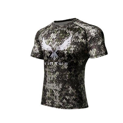 Virtus - T Shirt for Men Rocky X S/S Full Camo M (TARIIS) ()