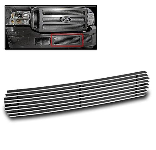 ZMAUTOPARTS F250 F350 F450 F550 Super Duty/+ Excursion Bumper Center Billet Grille