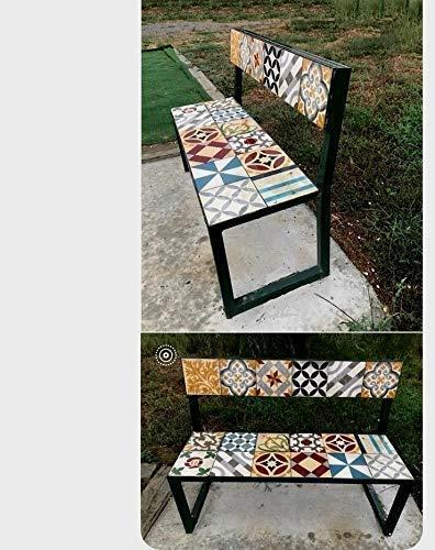 Banco para jardin exterior o casa rustica hecho a mano: Amazon.es: Handmade