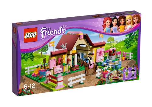 LEGO Friends Girls Heartlake Horse Stable w/ Mini Doll Figures | 3189 (Mini Stable Horse)