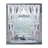 Cheap Carnation Home Fashions Faith Fabric Window Curtain