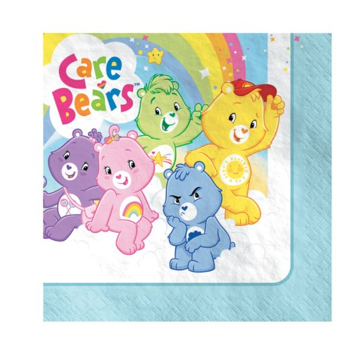 Care Bears Happy Days Lunch Napkins Party Accessory]()