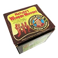 Uncle Jim's Worm Farm 2000 Count Red Wiggler Worms