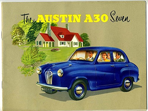 The AUSTIN A30 Seven US & Canada Sales Booklet British Motor Corporation 1950's