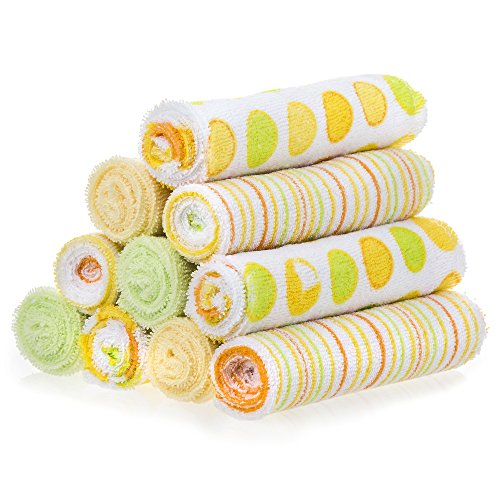 Spasilk pack Terry Washcloth Yellow product image