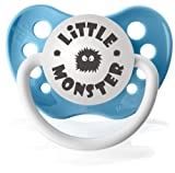 Personalized Pacifiers Little Monster Pacifier in Blue