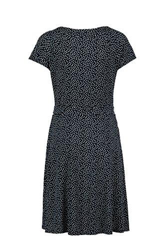 Kleid Claudia Sträter Navy Jersey mit Tupfenmuster Damen vvtq4R