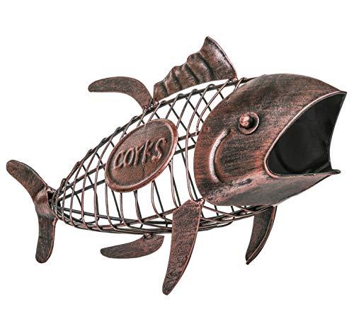 Fish Wine Cork Cage