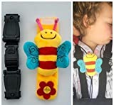 Anti Escape System Chest Clip Buggy Pushchair Car Seat Houdini Safety Strap to Stop Your Little escapees Taking Their arms Out of The Harness with Escape-me-not. Safer Journeys-Less Stress
