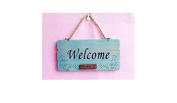 Bienvenido a casa para la pared puerta Sign Shop Bienvenido ...
