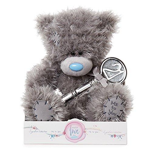 Me To You 21st Birthday Tatty Teddy with '21' Key