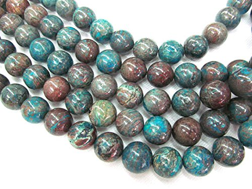 8mm Natural Calsilica Jasper stone blue Rainbow round ball Loose Beads strand 16inch daybeads