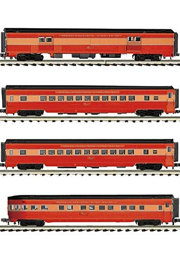 MTH TRAINS; MIKES TRAIN HOUSE SP 4 CAR 70' Streamlined Set