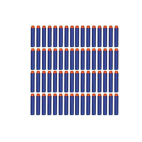 SUNLIGHT Lot 300pcs 7.2cm Foam Darts for Nerf N-strike Elite Series Blasters Kid Toy Gun Blue (Toy Hunting Guns compare prices)