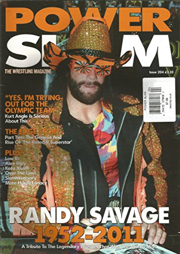 Power Slam Magazine # 204 (July 2011,Randy Savage Tribute Issue)