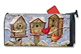 Magnet Works MAIL01248 Christmas Birdhouse Mailwrap