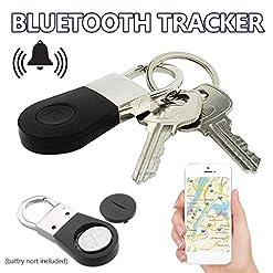 Noblik Keychain Alarm Gps Tracker Smart Key Alarm Anti-Lost Key Finder Locator Device For Car Pet Elder Tracking Tracer Hot New [tag]