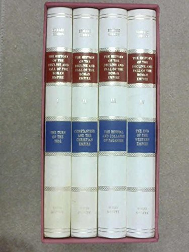 The History of the Decline and Fall of the Roman Empire - COMPLETE Box Set in 8 Vols. - Folio Society