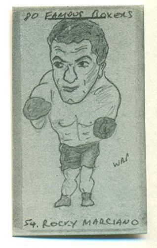 Boxers Complete Set with Marciano, Ali, Louis, Dempsey, Corbett, Cooper, Carnera, Braddock (Cinderella Man), Baer, Armstrong ()