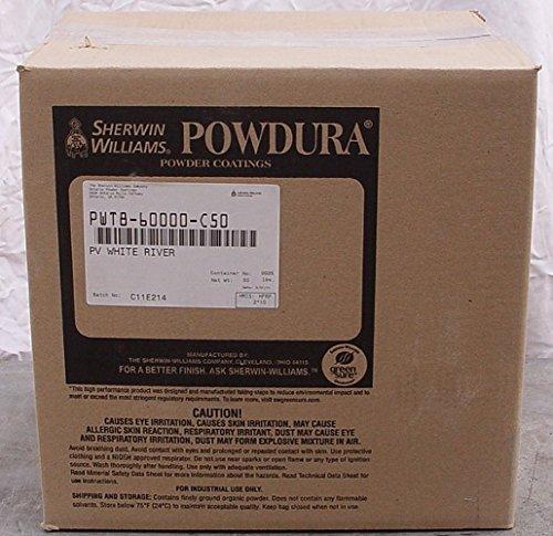1 LB Sherwin Williams Powdura Gloss White Powder Coat Coating Paint Free 2-3 Day (Powder Coat Gloss)