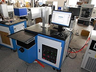 75W Semiconductor/Pumped Laser / Metal Marking machine stainless steel engraving