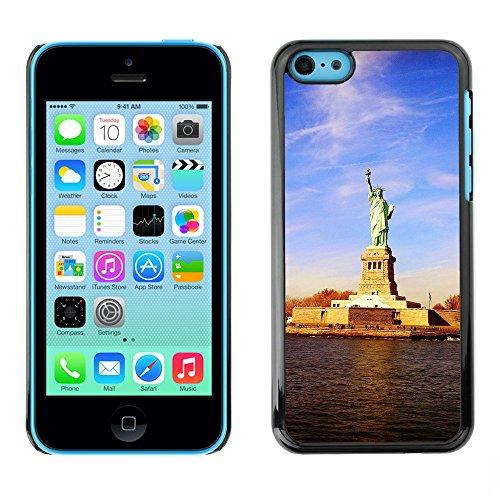 Premio Sottile Slim Cassa Custodia Case Cover Shell // F00015359 Statue de la Liberté // Apple iPhone 5C