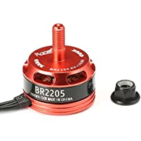 BangBang Racerstar Racing Edition 2205 BR2205 2600KV 2-4S Brushless Motor CW/CCW For QAV250 ZMR250 260 280 RC (1Pc: Mode Clockwise Screw Thread)