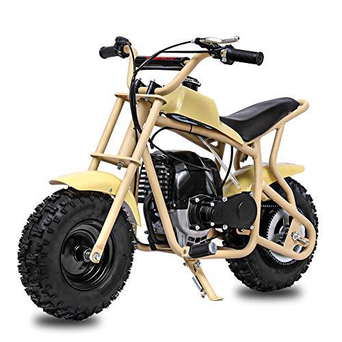 Fit Right 2020 DB003 40CC 4-Stroke Kids Dirt Off Road Mini Dirt Bike, Kid Gas Powered Dirt Bike Off Road Dirt Bikes, Gas Powered Trail Mini Bike - Ultra Edition