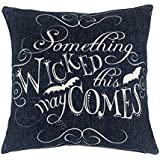 "Wicked Halloween Throw Pillow Case Cushion Cover Decorative Cotton Linen 18"" x 18"""