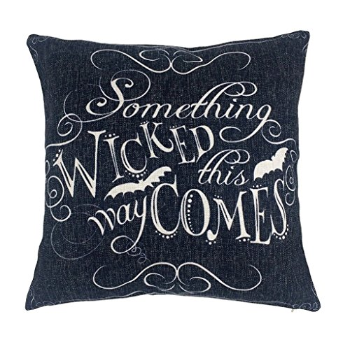 Wicked Halloween Throw Pillow Case Cushion Cover Decorative