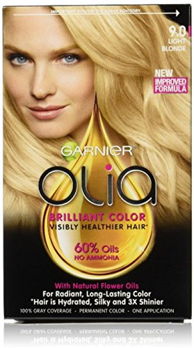 Garnier Olia Oil Powered Permanent Color 9.0 Light Blonde 1 Each (Pack of 2)