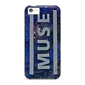 MMZ DIY PHONE CASEJacquieWasylnuk iphone 5c Scratch Resistant Hard Phone Cover Custom Beautiful Muse Skin [QQb1356WrFs]