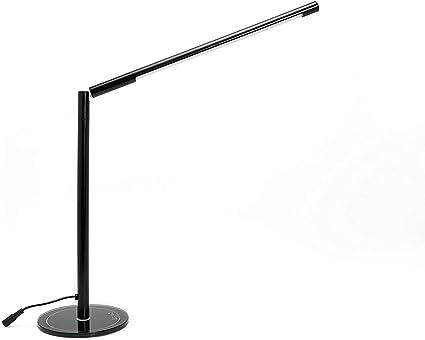 LIHAO Lámpara LED Escritorio 5W 48 LED Lámpara de Mesa Ajustable ...