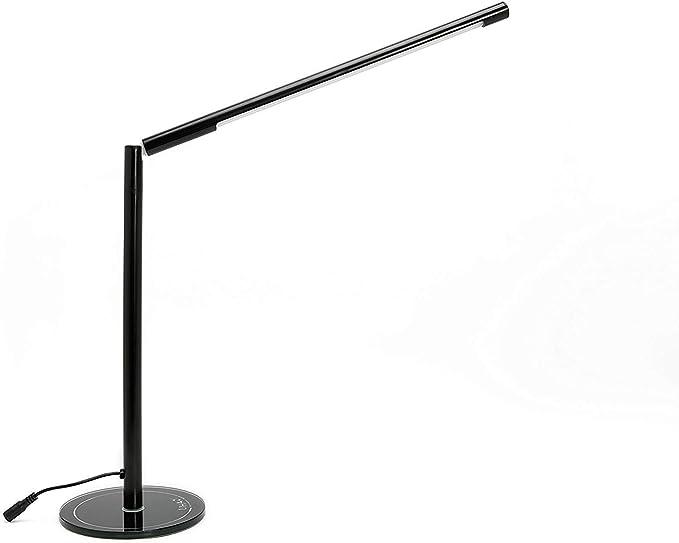Lampada Da Tavolo Dimmerabile Lihao 5w Lampada Da Scrivania A Intensita Variabile 48led Bianco Caldo Amazon It Illuminazione