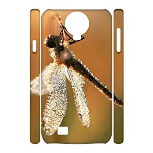 Beautiful Dragonfly Unique Design 3D Cover Case for SamSung Galaxy S4 I9500,custom cover case ygtg-310219 WANGJING JINDA