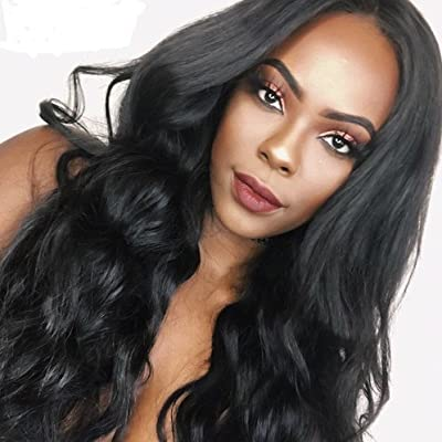 Amazon.com   SINA Virgin Brazilian Hair Body Wave 4 Bundles 14 16 16 18  inch Human Hair 10A Full Weaves Weft Extensions for Black Women ON SALE    Beauty 4915f9f409