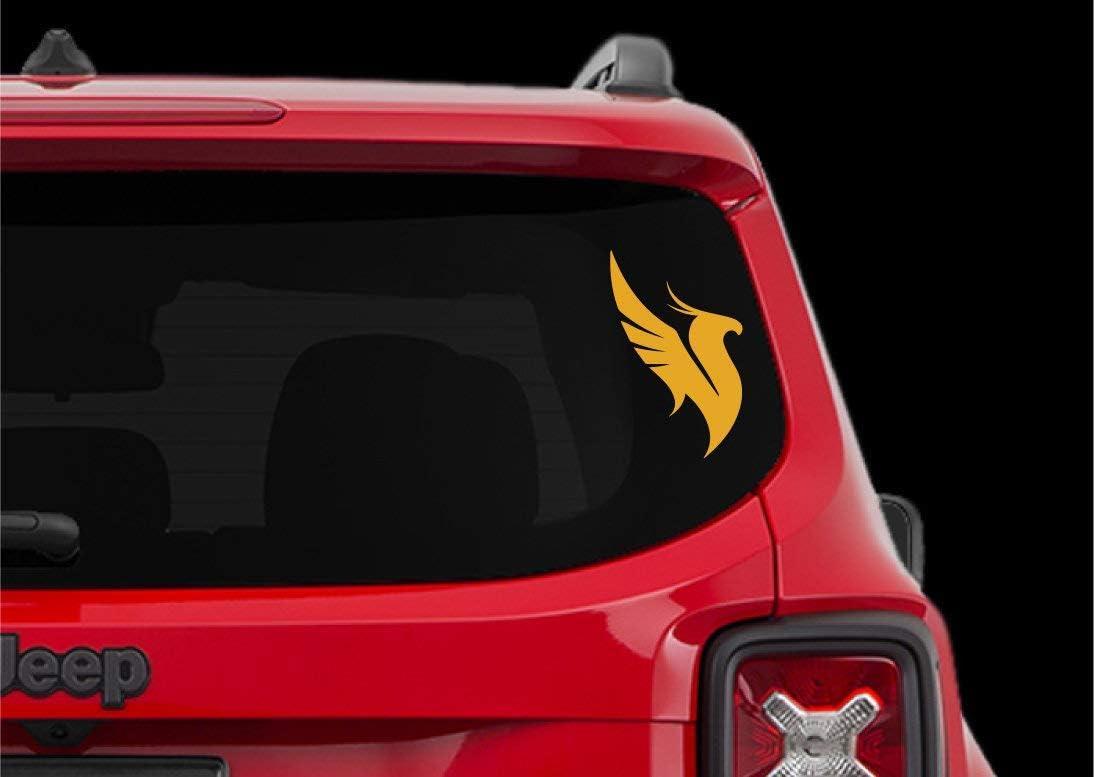 EricauBird Decal-Sticker Illenium - Phoenix - Car Decal Vinyl EDM Laptop Mac Phone iPhone Bumper Sticker Window - AF-D1134 Wall Art