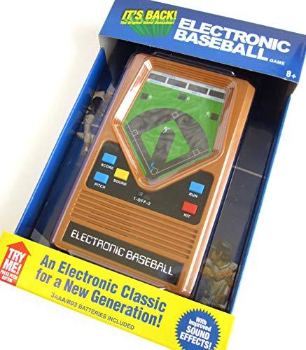 Big Game Toys~Electronic Baseball Classic 1970's Handheld Pocket Travel Portable Video Game